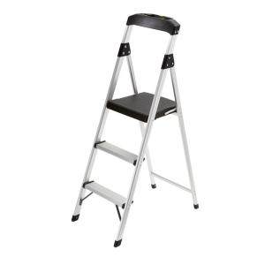 3-Step Aluminum Step Stool Ladder with 225 lb. Type II Duty Rating  sc 1 st  The Home Depot & Gorilla Ladders 2-Step Compact Steel Step Stool with 225 lb. Load ... islam-shia.org