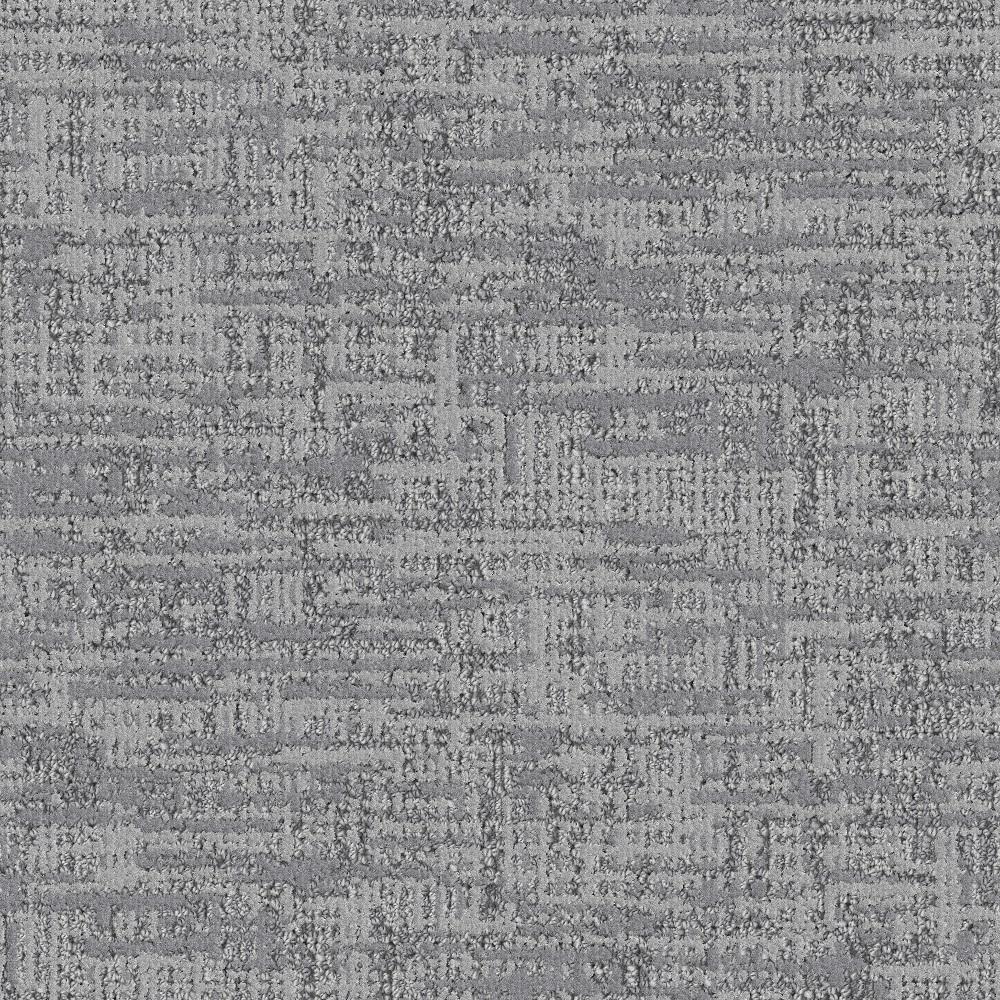 Carpet Sample - Tailored - Color Granite Pattern 8 in. x 8 in.