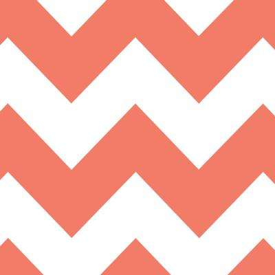 8 in. x 10 in. Laminate Sheet in Papaya Chevron with Virtual Design Matte Finish