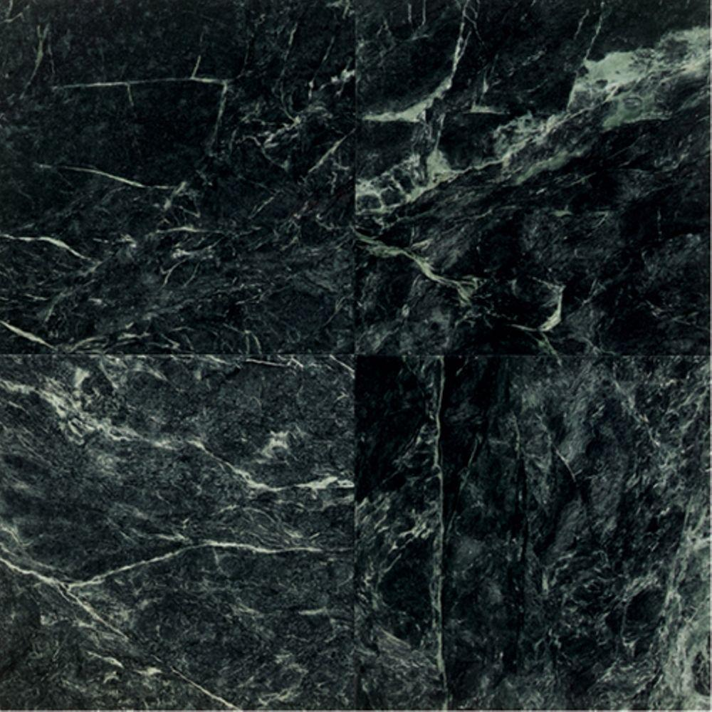 Natural Stone Collection Empress Green 12 in. x 12 in. Polished