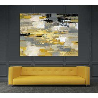 "54 in. x 84 in. ""Urban Walkway"" by Silvia Vassileva Printed Framed Canvas Wall Art"