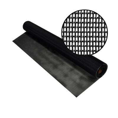 60 in. x 25 ft. Black Pet Screen