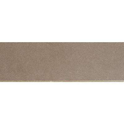 Beton Olive Bullnose 4 in. x 12 in. Glazed Porcelain Wall Tile (1 ln. ft.)