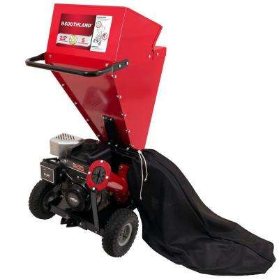 2.5 in. Briggs & Stratton 205cc Engine Gas Powered Chipper Shredder
