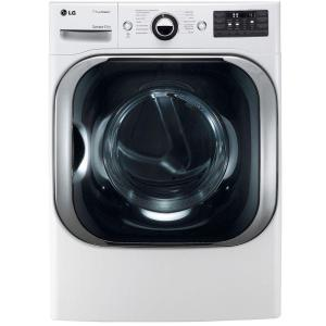 9.0 cu. ft. Electric Dryer with True Steam in White