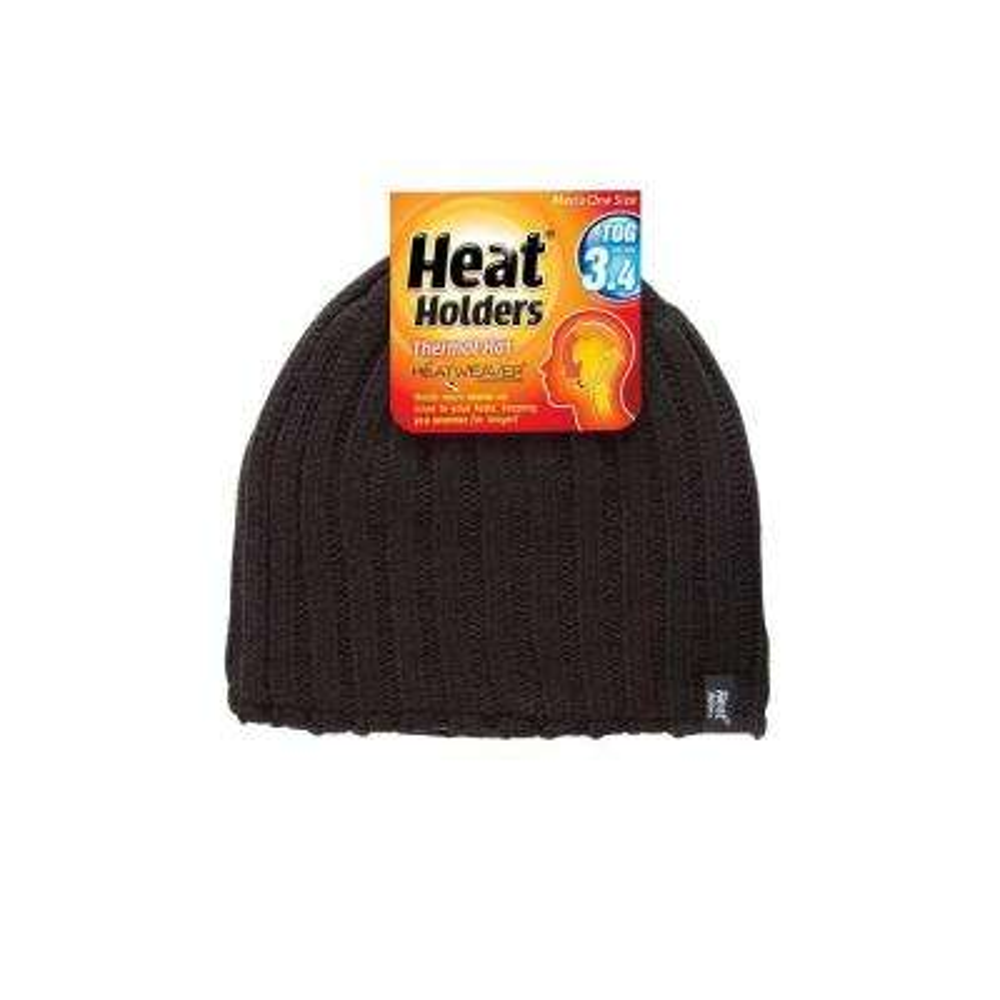 Men's Black Thermal Hat
