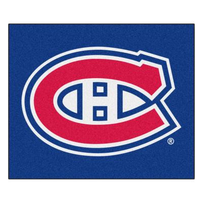 Montreal Canadians 5 ft. x 6 ft. Tailgater Rug