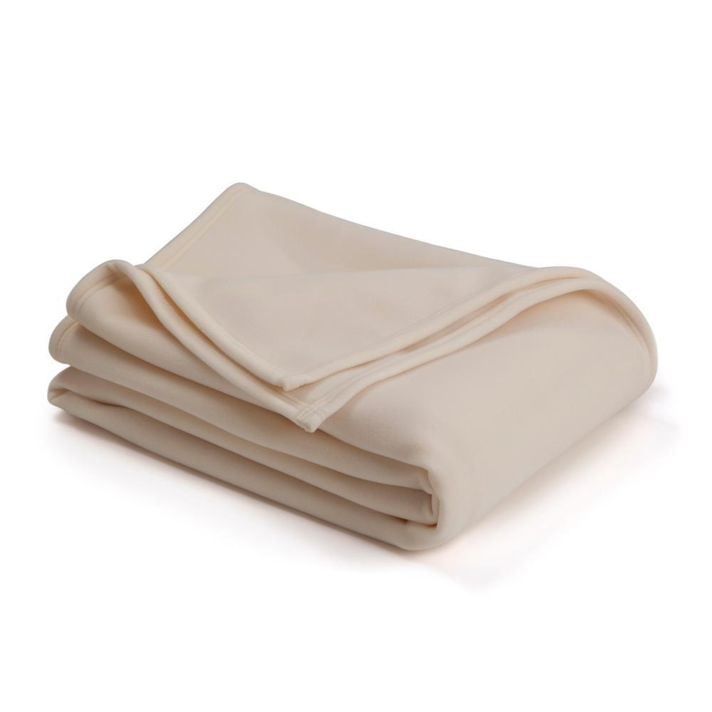 Original Ivory Nylon Full/Queen Blanket