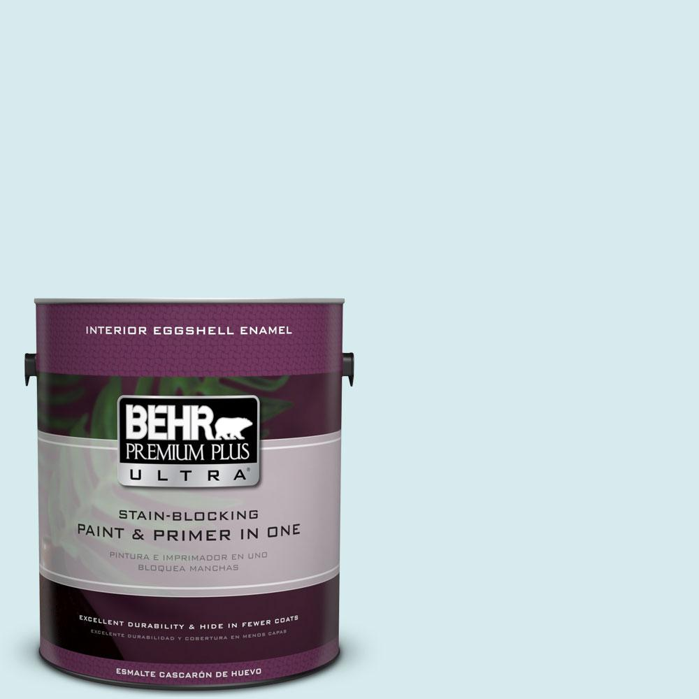 BEHR Premium Plus Ultra Home Decorators Collection 1-gal. #HDC-MD-23 Ice Mist Eggshell Enamel Interior Paint