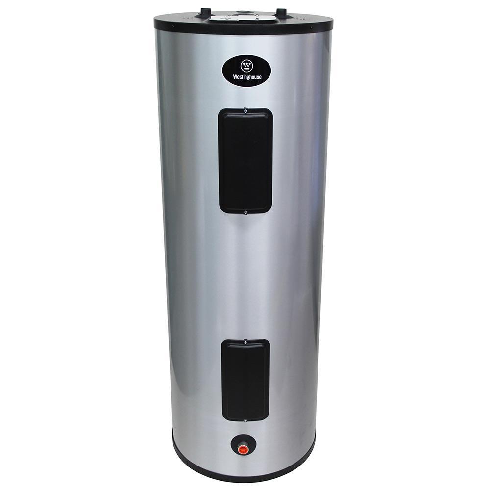 40 Gal. 4500 Watt Lifetime Residential Electric Water Heater ...