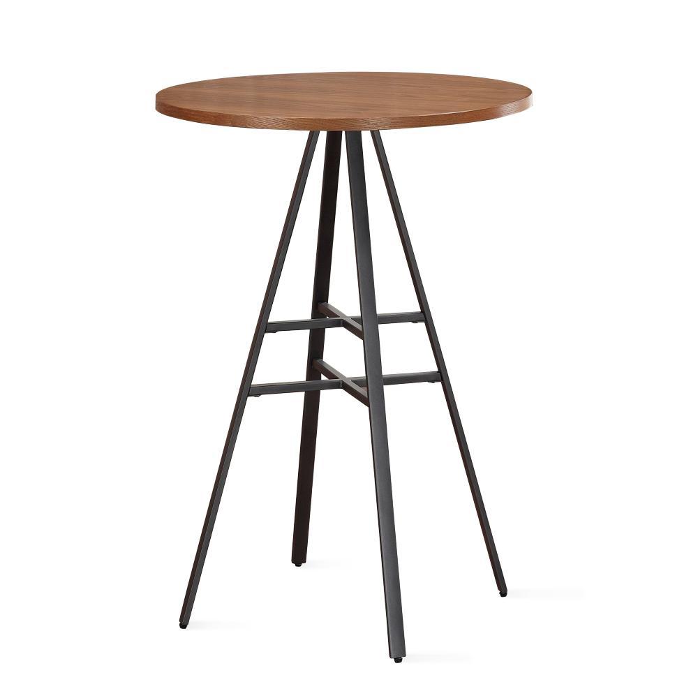 H Golden Oak Pub Table