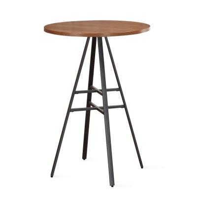 Stockton 42 in. H Golden Oak Pub Table