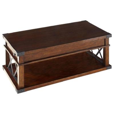 Casters Coffee Tables Accent The Home Depot