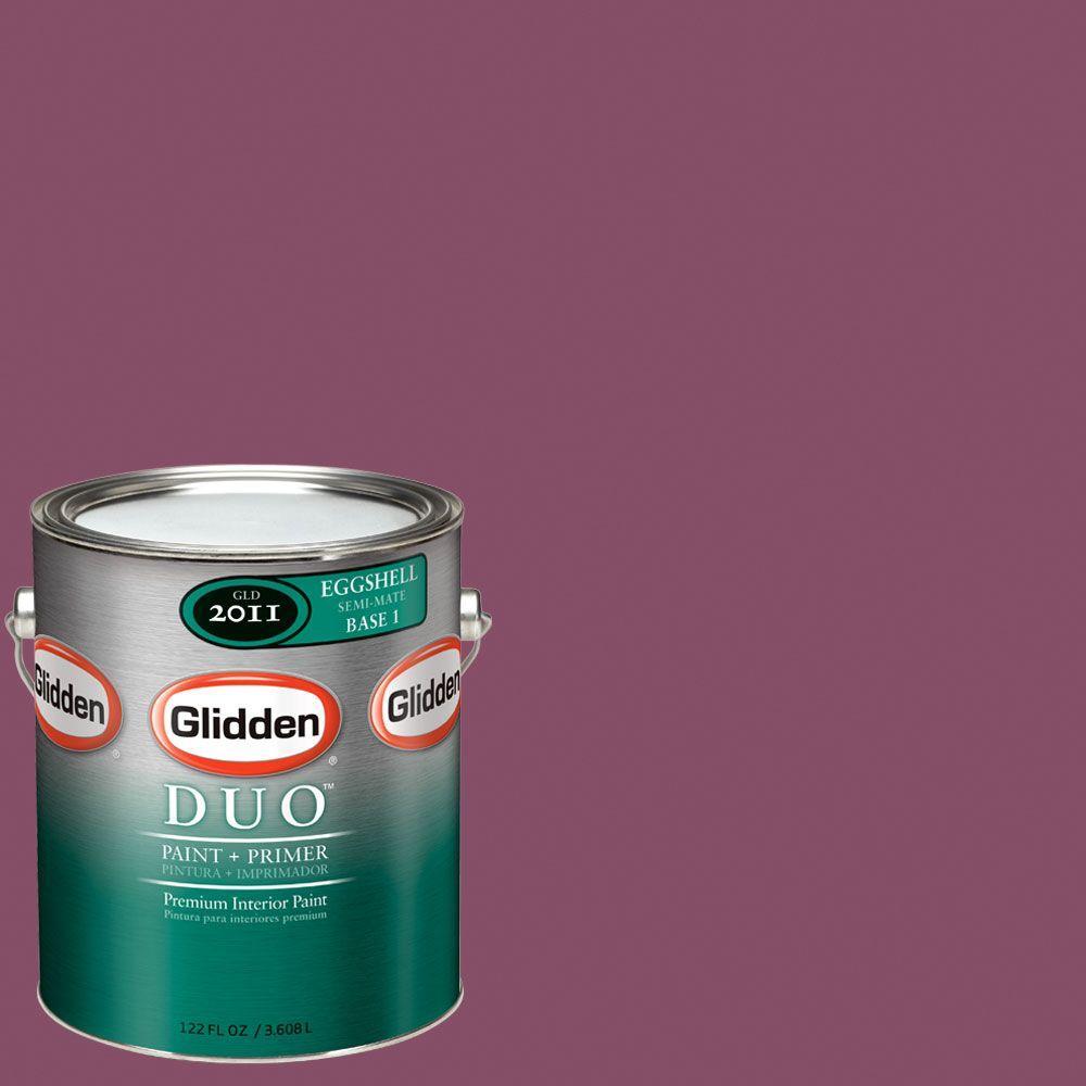 Glidden DUO Martha Stewart Living 1-gal. #MSL011-01E Beet Eggshell Interior Paint with Primer-DISCONTINUED