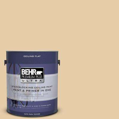 1-Gal. No.UL150-6 Ceiling Tinted to Dried Plantain Interior Paint