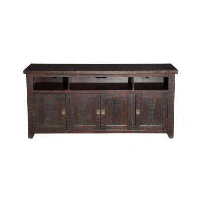 Coffee Plantation Espresso Home Entertainment Center