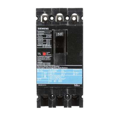 50 Amp 3-Pole Type ED 18 kA Circuit Breaker