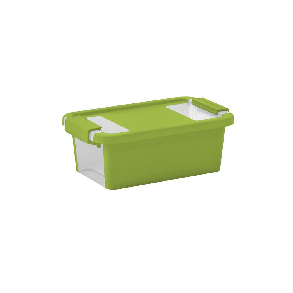 BiBox 2.5 qt. Extra Small Storage Tote in Lime Green