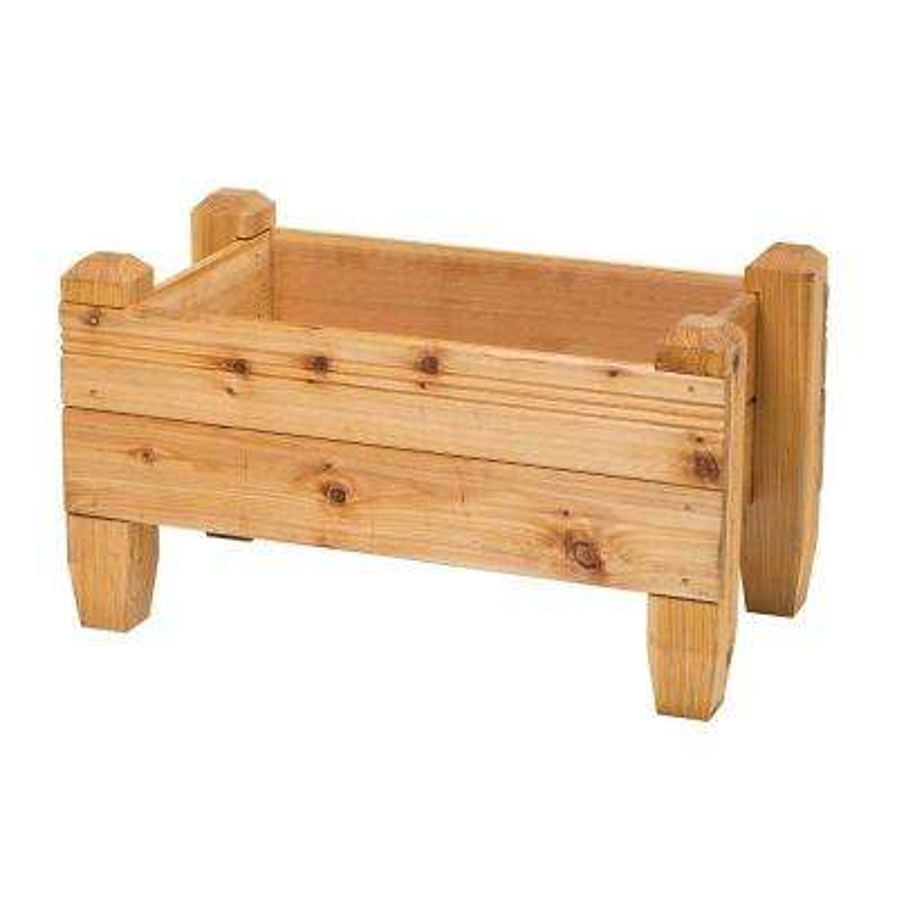 18 in. x 19 in. Cedar Planter Box