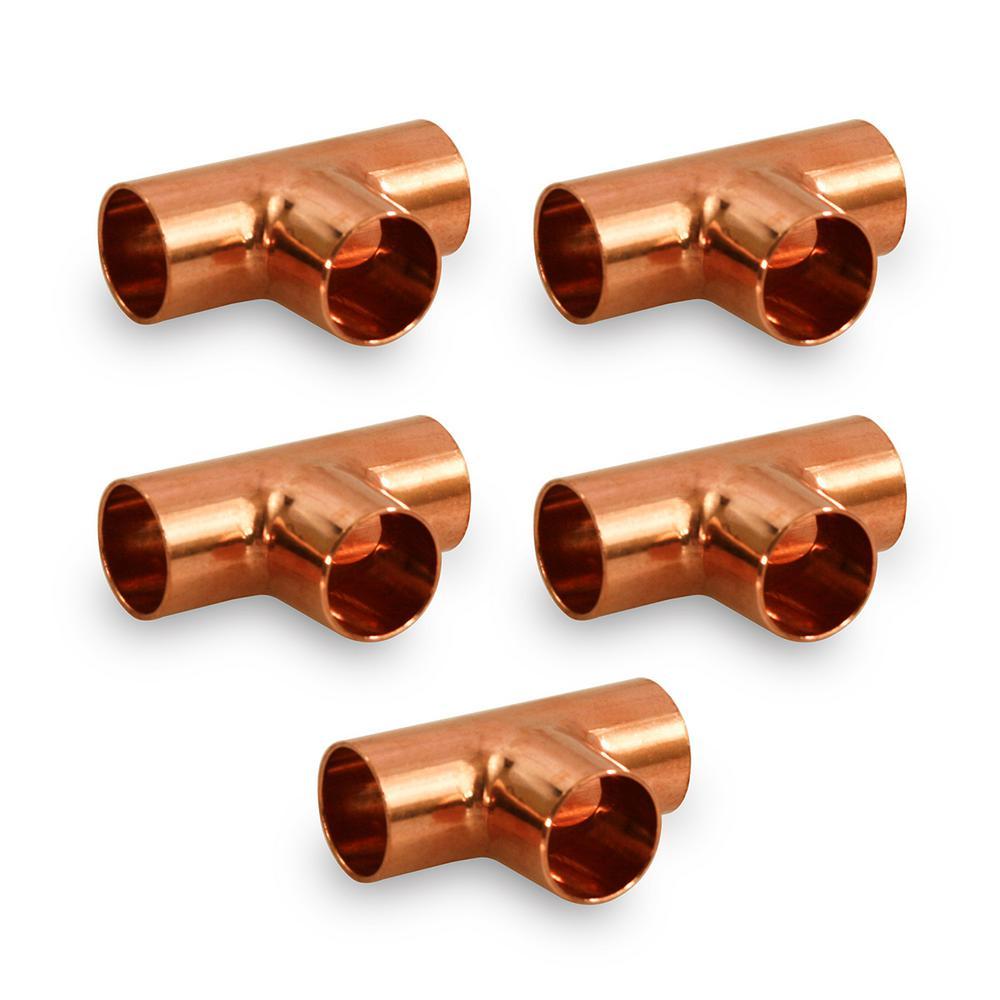 """Pack of 3//4/"""" HVAC Copper Short Radius Street 90 5 W02330 // C254-0090"""