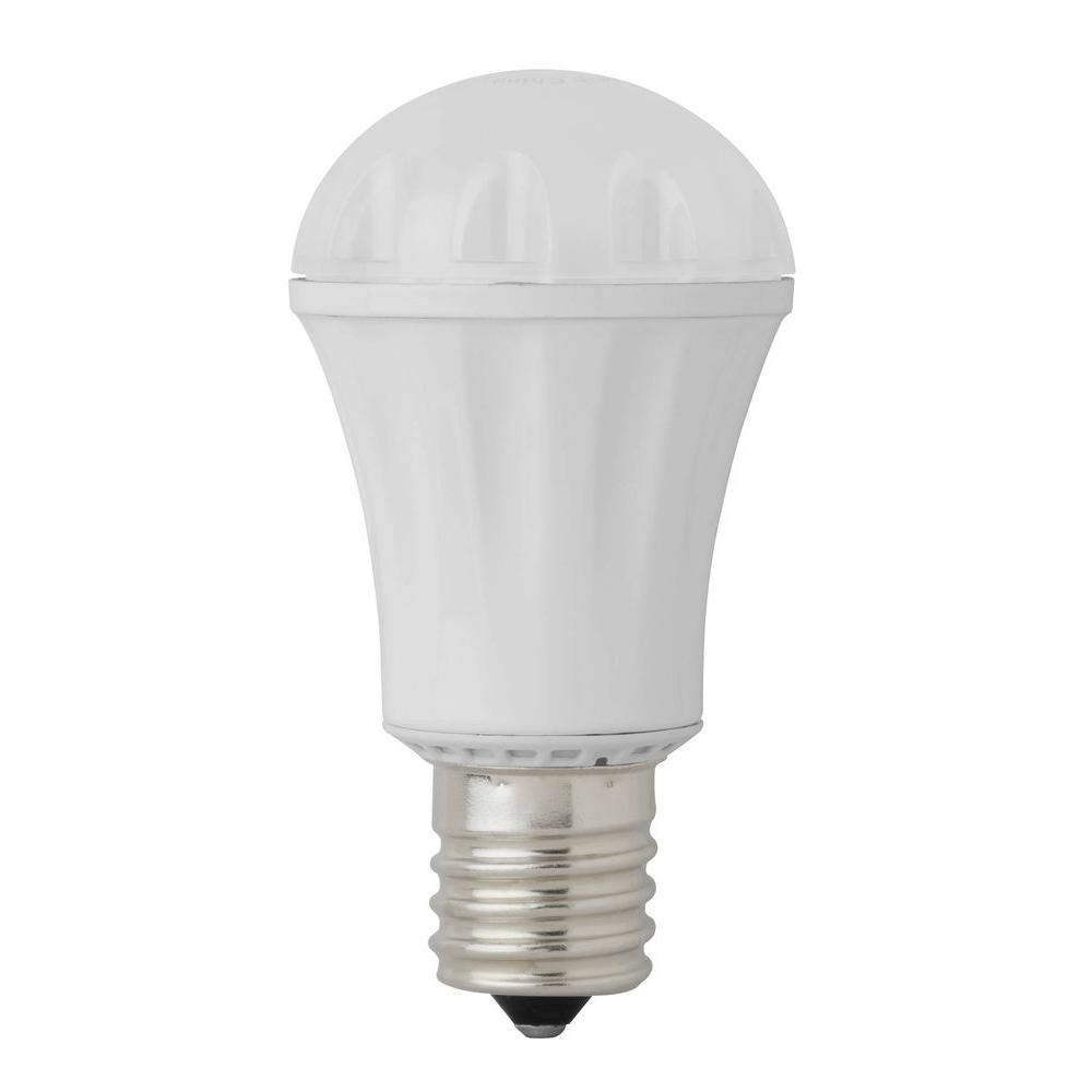 25W Equivalent Warm White A12 LED Light Bulb (48 Pack)