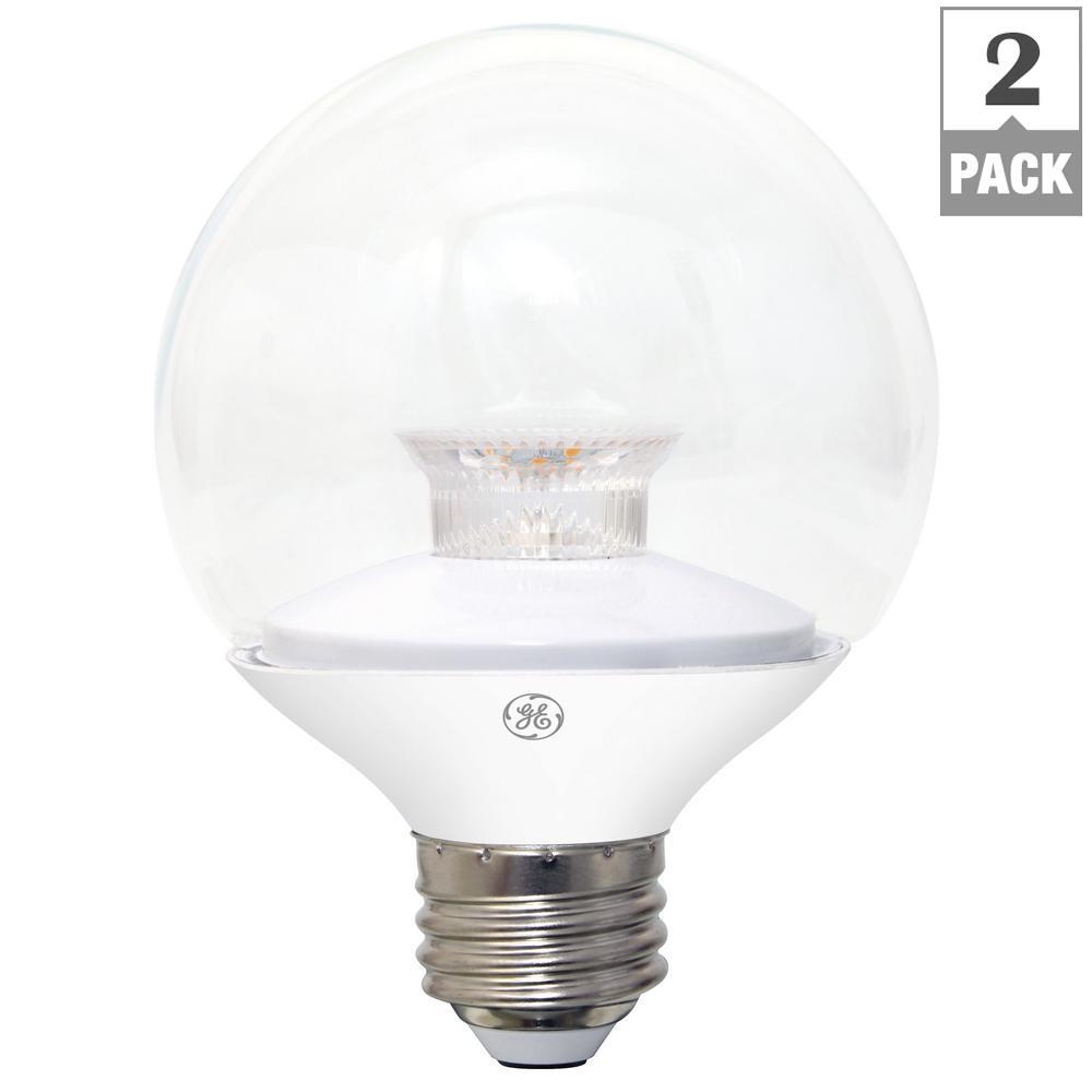 Model Of 40W Equivalent Soft White 2700K High Definition G25 Globe Clear Dimmable LED Light Bulb Plan - Fresh ge led light bulbs Model