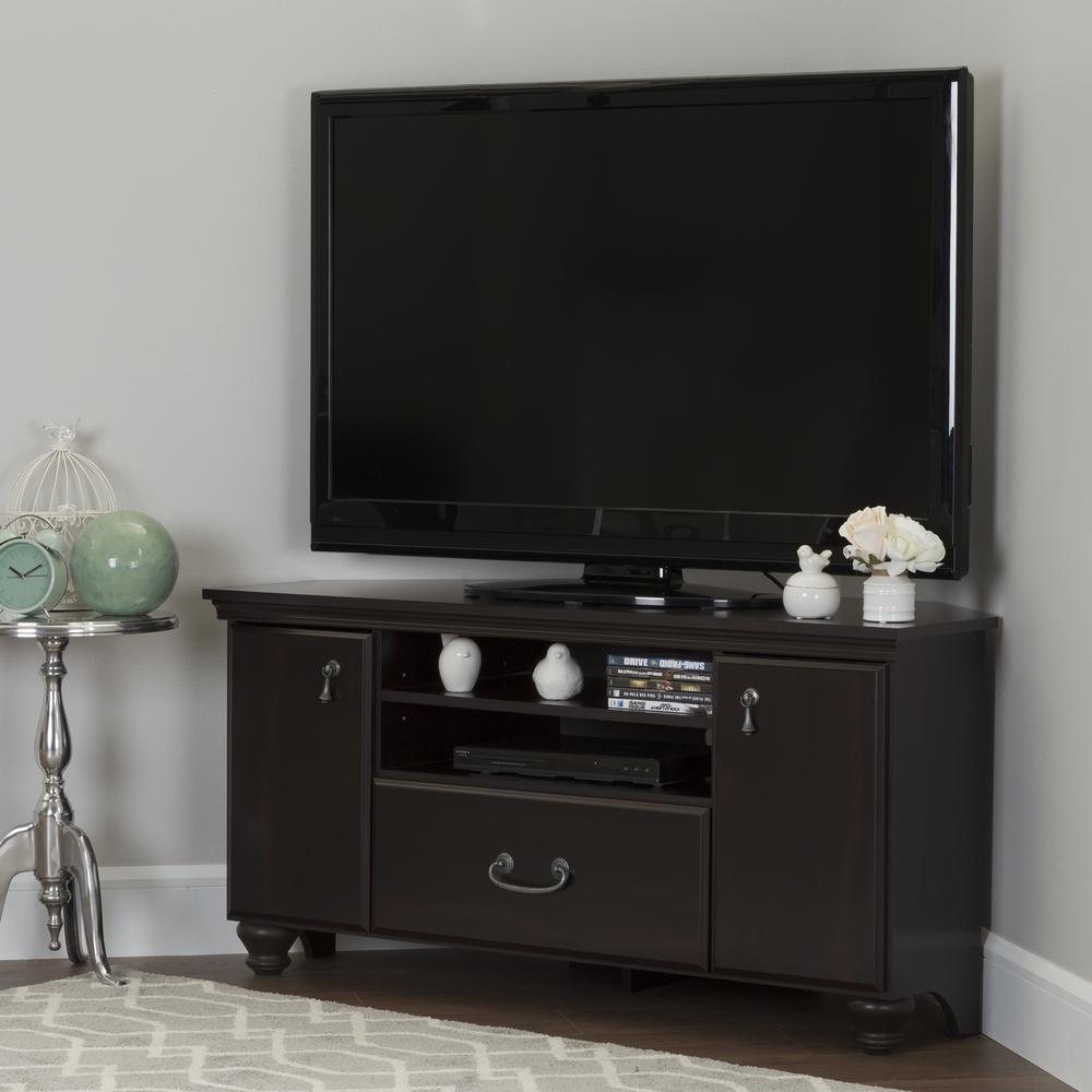 South S Le Dark Mahogany Storage Entertainment Center