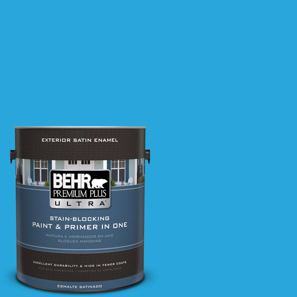1 gal. #MQ4-56 El Capitan Satin Enamel Exterior Paint and Primer