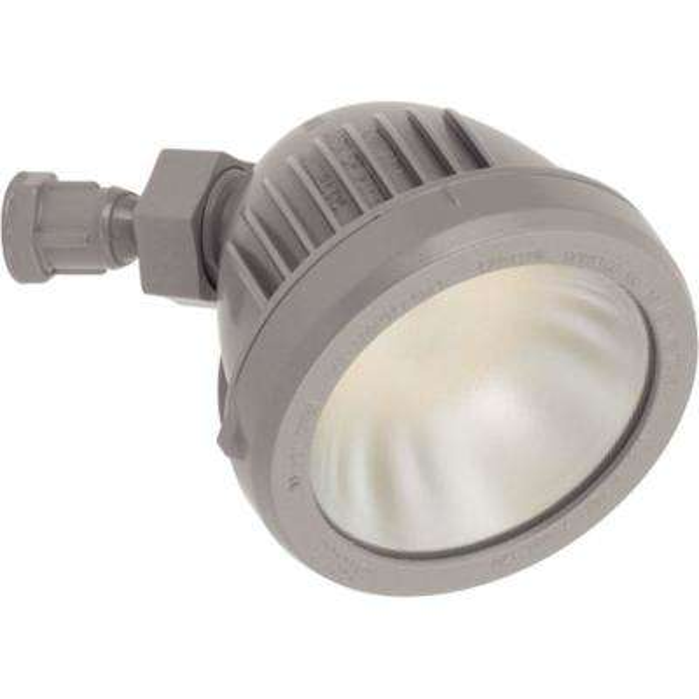 13-Watt Metallic Gray Outdoor Integrated LED Flood Light