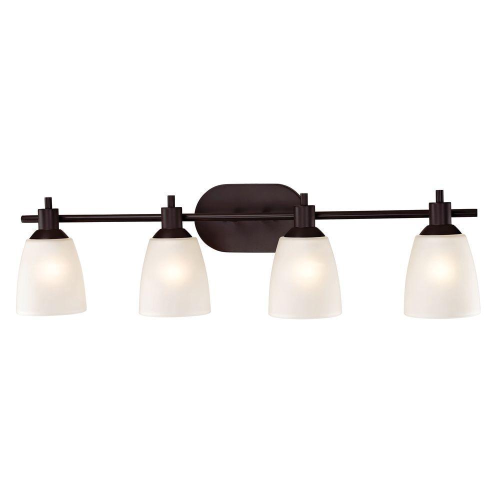 Jackson 4-Light Oil-Rubbed Bronze Bath Bar Light