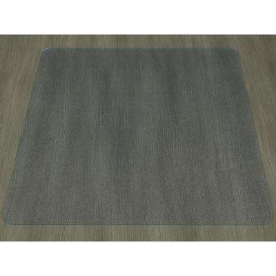 Hard Floor Clear 30 in. x 48 in. Vinyl Chair Mat