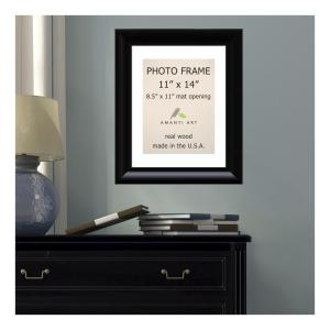 Amanti Art Steinway 8.5 inch x 11 inch White Matted Black Picture Frame by Amanti Art