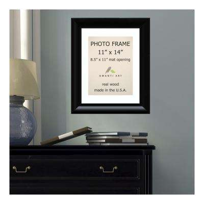 Steinway 8.5 in. x 11 in. White Matted Black Picture Frame