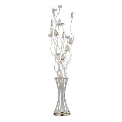 Satin Nickel Floor Lamp