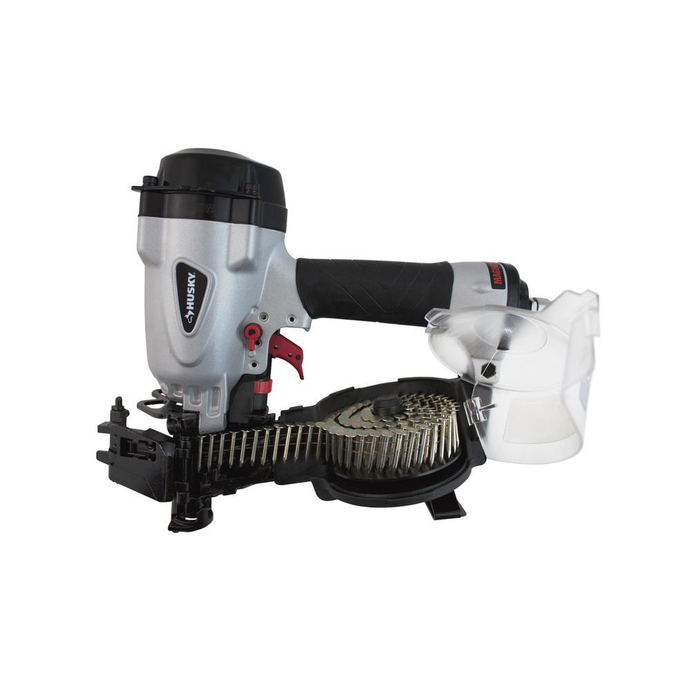 Coil Roofing Nailer Pneumatic Air Tool Nail Gun Durable