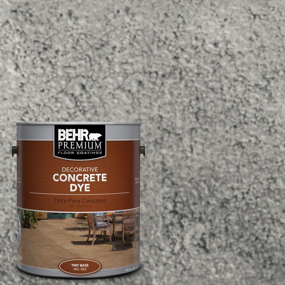 1 gal. #CD-825 Industrial Gray Concrete Dye
