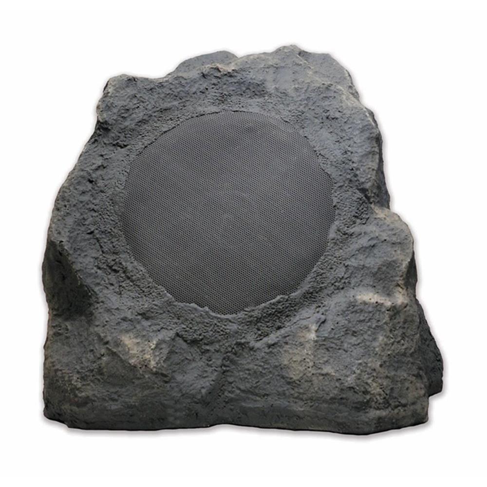 8 in. Bluetooth 60-Watt Outdoor Rock Speaker Pair