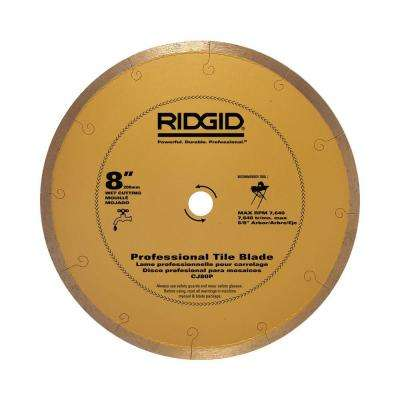 8 in. Premium Tile Diamond Blade