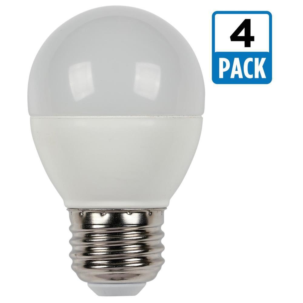 Bulbrite 40w Equivalent Warm White Light G16 Dimmable Led: Westinghouse 60W Equivalent Warm White G16 1/2 Dimmable