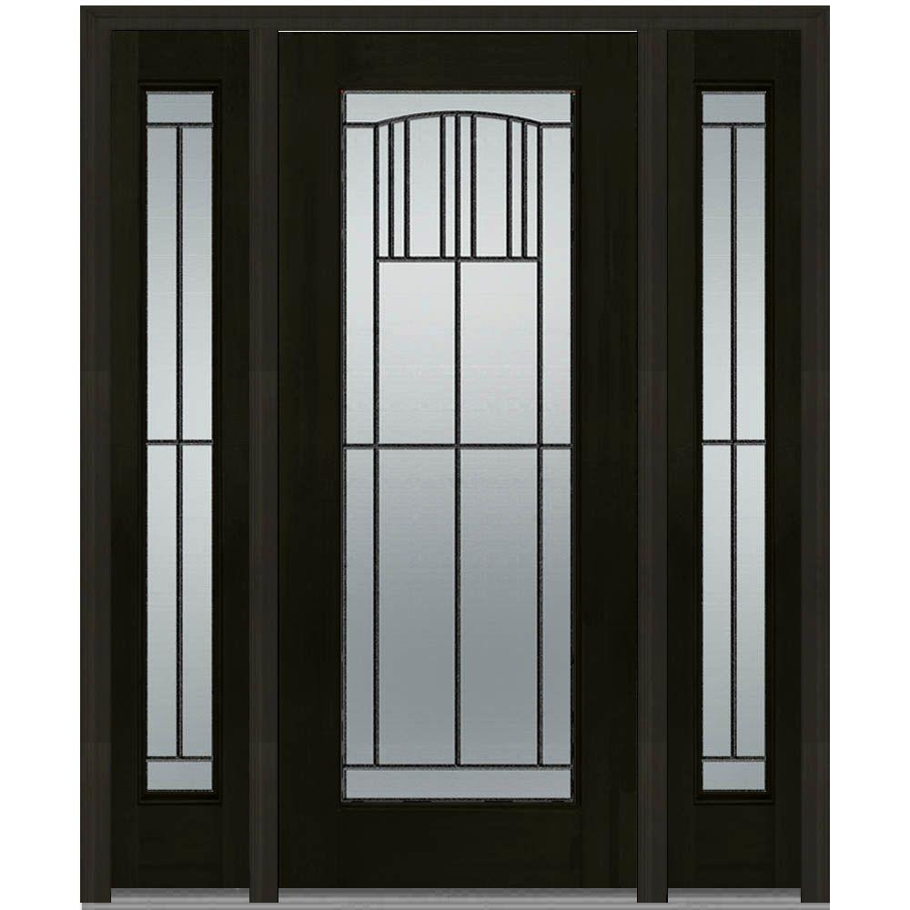 MMI Door 64 in. x 80 in. Madison Left-Hand Full Lite Decorative  sc 1 st  Home Depot & MMI Door 64 in. x 80 in. Madison Left-Hand Full Lite Decorative ...