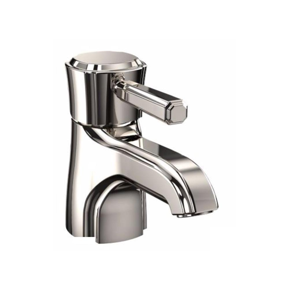 Toto Guinevere Single Hole Single Handle Bathroom Faucet In Polished Nickel Tl970dd Pn The