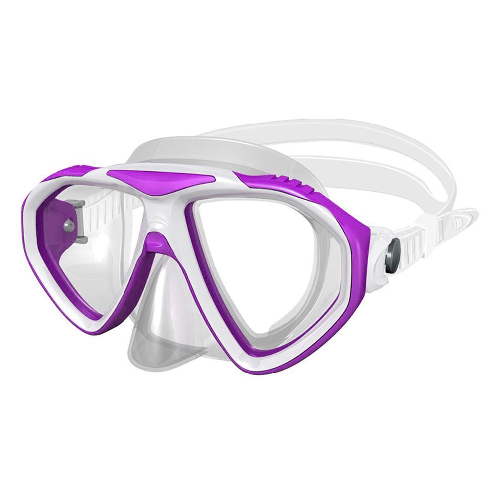 Monaco Deluxe Sport Pink Swim Mask