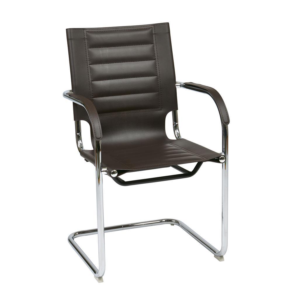 Espresso Trinidad Guest Chair