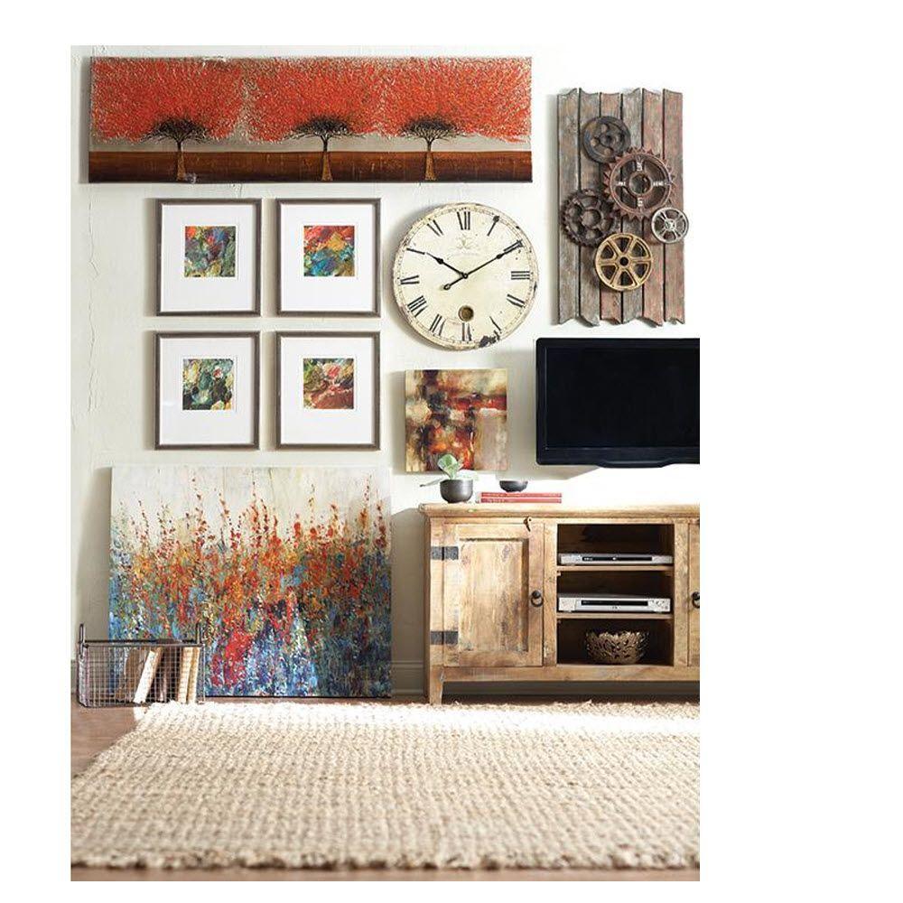 Home wall decor clocks