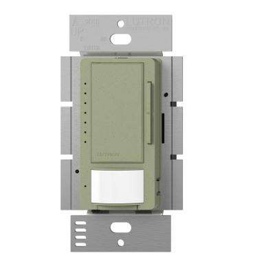 Maestro C.L Dimmer and Vacancy Motion Sensor, Single Pole and Multi-Location, Greenbriar