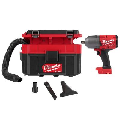 M18 FUEL 18-Volt Lithium-Ion Brushless Cordless 1/2 in. Impact Wrench with Friction Ring with PACKOUT Vacuum