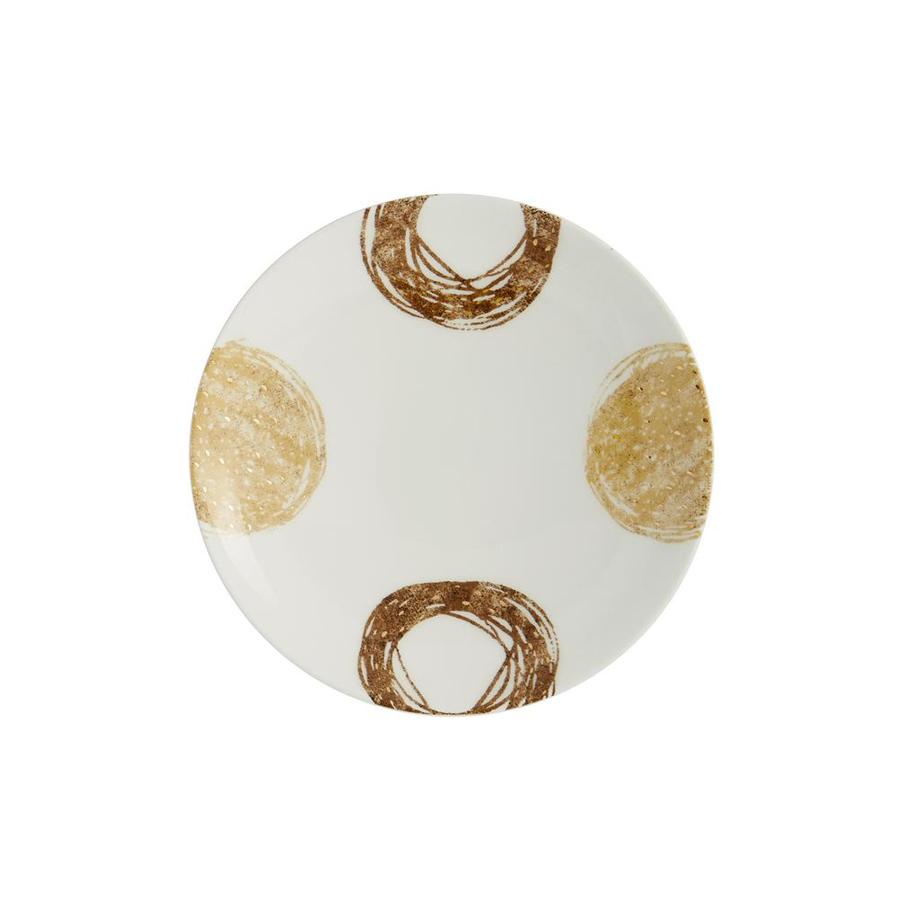 Auratic marula canape plate set of 4 15 00308 the home for Canape plate sets