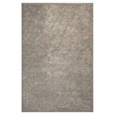 Tranquility Champagne 5 ft. 3 in. x 7 ft. 8 in. Area Rug
