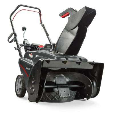 22 in. 208cc Single Stage Electric Start Gas Snowthrower