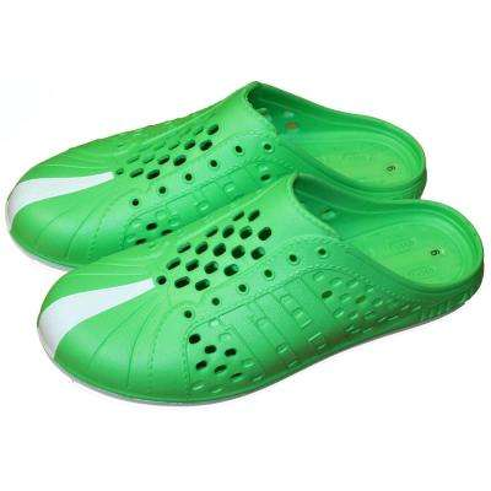 Green Tennis Shoe Style Garden Clog